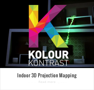 3D Video Mapping ‹ Kolour Kontrast – Visual Experiences Your